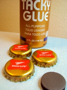 bottle cap DIY